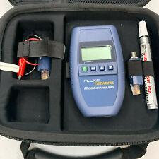 Fluke Networks Microscanner Pro Cable Scanner Tester