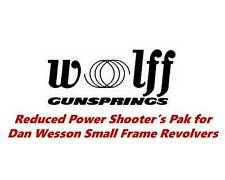 Wolff Reduced Power Trigger/Hammer Springs for Dan Wesson Small Frame Revolvers