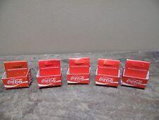 (5) Vintage Coca Cola Miniature 6 Packs