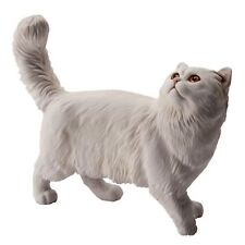 More details for john beswick connoisseur figurine - persian shaded silver cat