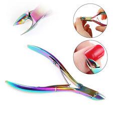 Titanium Nail Cuticle Remover Cutter Nipper Clipper Tool Kit Manicure Trimmer