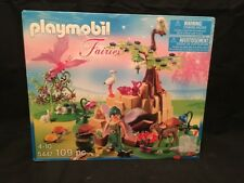2012 Playmobil 5447 Magic Kingdom Fairy Set NEW In Box w/ Animals +, 4+, 109 Pcs