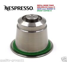 Nespresso Refillable Capsule Stainless Steel ONLY for nespresso machines