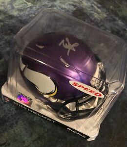 GFA Minnesota Vikings RC Quarterback KELLEN MOND Signed Mini Helmet K1 COA