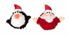 Dog Christmas New Moppy Balls Assorted Santa Penguin Squeak Toy! 17cm Armitage