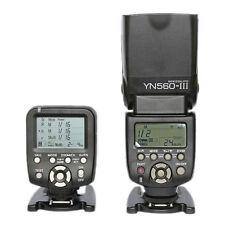 Yongnuo YN-560TX Wireless Flash Controller +Flash Speedlite YN-560 III for Canon