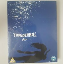 Thunderball James Bond Blu-Ray Limited Edition Art Cover New & Sealed 007