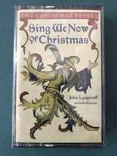 The Christmas Revels, Sing We Now of Christmas, SEALED 1997 Cassette, Langstaff