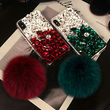 3D Luxury pendant bling diamonds crystal rhinestone phone case cover For LG