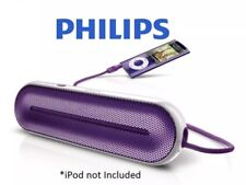 Stereo Snd on the Go, Purple Philips Portable Mini Speaker-Pocket-sized Powerful