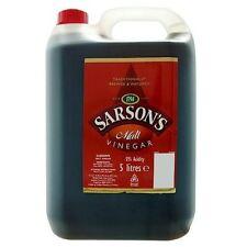Sarsons Malt Vinegar 1X5LTR