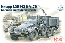 ICM 1/72 Krupp L2H143 Kfz.70 German Light Army Truck # 72451