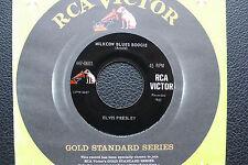 "7"" Elvis Presley - Milcow Blues Boogie - USA RCA Gold Standard"