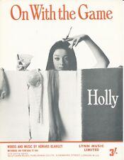 Su con il gioco-HOLLY - 1968 SPARTITI MUSICALI