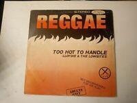 Lloydie & The Lowbites-Too Hot To Handle Vinyl LP 1975