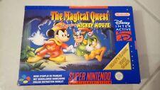 Magical Quest Super Nintendo Snes FAH Complet Edition Disney