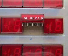 150pcs VQE12D 7-Segment LED Display Red 1.5-digit VQE12 1,5-stellige Anzeige Rot