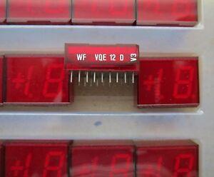30pcs VQE12D 7-Segment LED Display Red 1.5-digit VQE12 1,5-stellige Anzeige Rot
