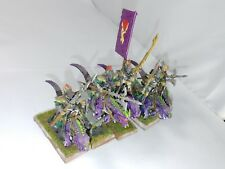 Warhammer Fantasy/Age of Sigmar Dark Elves Cold One Knights Painted #1