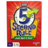 5 Second Rule Just Spit It Out Group Board Game Play Monster Ages 10+