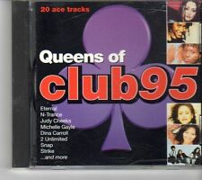 (FH971) Queens Of Club 95, 20 tracks various artists - 1995 CD