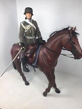 1/6 DRAGON GERMAN WEHRMACHT MAJOR & HORSE BACK VICTORY PARADE DRESS WW2 DID BBI