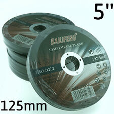 """50PC 125mm 5"""" CUTTING DISC WHEEL Thin 4 Angle Grinder Stainless Steel Metal Cut"""