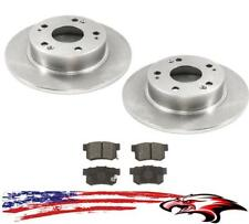 Rear Brake Rotors & Brake Pads for Acura TSX 2004-2008 & Honda Accord 2003-2007