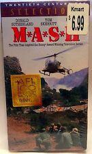 MASH Donald Sutherland Elliott Gould Robert Duvall Johnny Mandel, VHS SEALED NEW