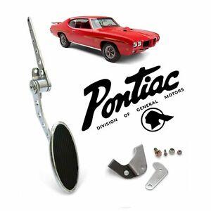 Pontiac Streetrod Firewall Mount Gas Pedal+ LT1 Swap Throttle Cable Bracket GTO