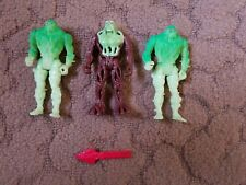Swamp Thing Action Figures and Accessory Kenner 1990