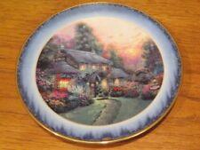 Thomas Kinkade Julianne's Cottage Peaceful Retreats Lenox Plate