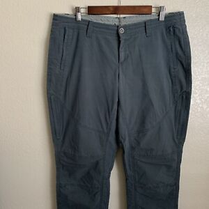 Kuhl Women's Blue Gray Spire Roll Up Pants Size 16