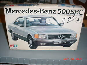 Tamiya Mercedes Benz 500 SEC 1/24 Plastic Model Kit #2429
