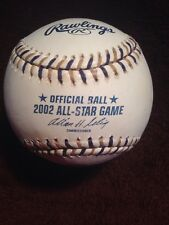 RAWLINGS 2002 OFFICIAL ALL-STAR GAME BASEBALL- Brand NEW- MILWAUKEE 7-7- UNUSED