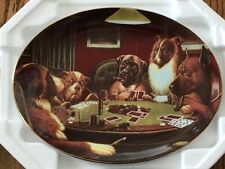 Franklin Mint - C.M. Coolidge, 'High Stakes' Plate *New* Limited Edition