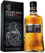 HIGHLAND PARK 18 y. a 70 CL uniquely smooth balanced Single Malt Scotch Whisky