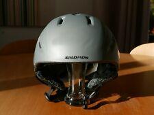 Salomon Impact Ski Helmet Size Medium Colour Grey