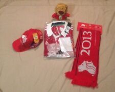 British Lions rugby jersey,hat,scarf, and teddy