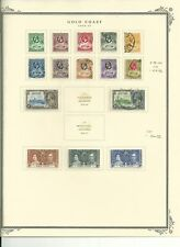 Gold Coast Collection 1875 to 1954 on Scott Specialty Pages, 11 Pages