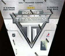 2011/12 PANINI TITANIUM SEALED HOBBY HOCKEY BOX