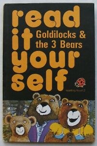 Vintage Ladybird Book – Goldilocks & the 3 Bears–Read it Yourself 777–Very Good