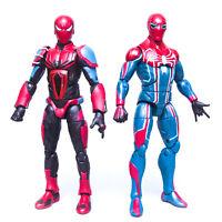 2019 Marvel Legends GamerVerse SPIDER-MAN Velocity Suit + Armor Mark III Figures