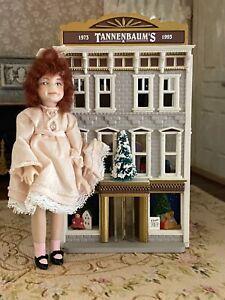 Vintage Miniature Dollhouse Tannenbaum's Depart Store Doll House For Child Doll