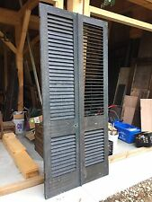 Original Antique Shutters For Entry Door.