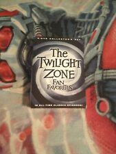 The Twilight Zone Fan Favorites 5 DVDs collectors set