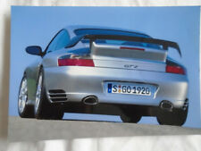 Porsche 911 GT2 press photo c2003 German text v3