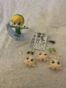 Good Smile Company Nenderoid Official Zelda Wind Waker Figure With Accessories