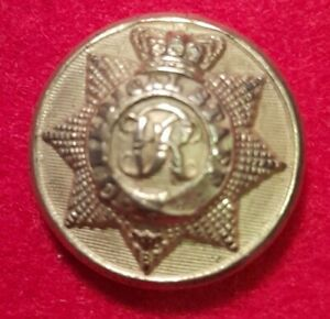 Medical Staff Corps Officers Frosted 22.5mm - 1855-1898 ALSOP & DOWNER Button
