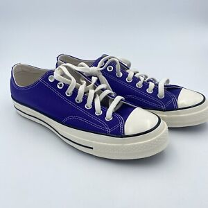 NWOB Converse Mens Size 10 Chuck Taylor All Star 70 Low OX Candy Grape 170553C